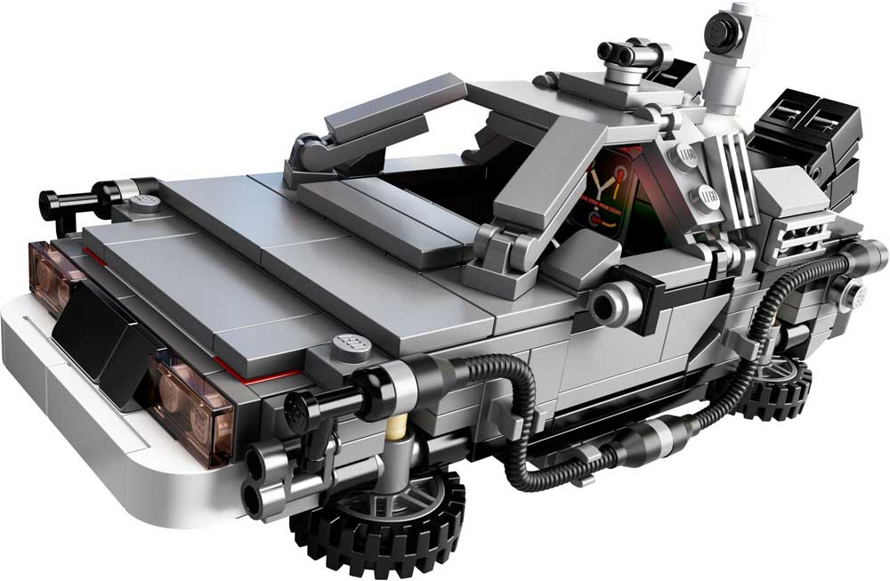 Lego Ideas DeLorean time machine 21103